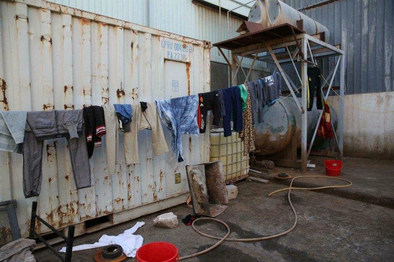 ©Abel Kavanagh/UNSMIL |Le centre de détention pour  migrants d'Abu Salim à Tripoli (archive de 2019).