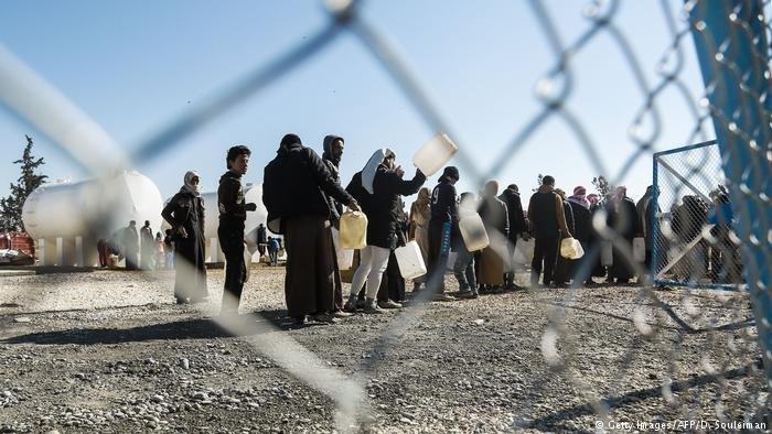 Syria Hasakeh refugee camp