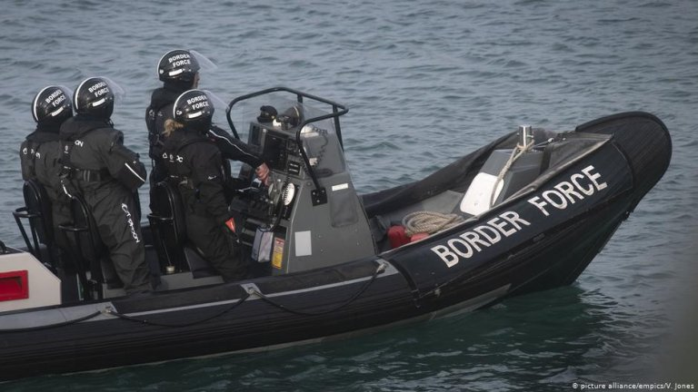 A UK Border Force patrol vessel | Photo: Picture-alliance/empics/V.Jones
