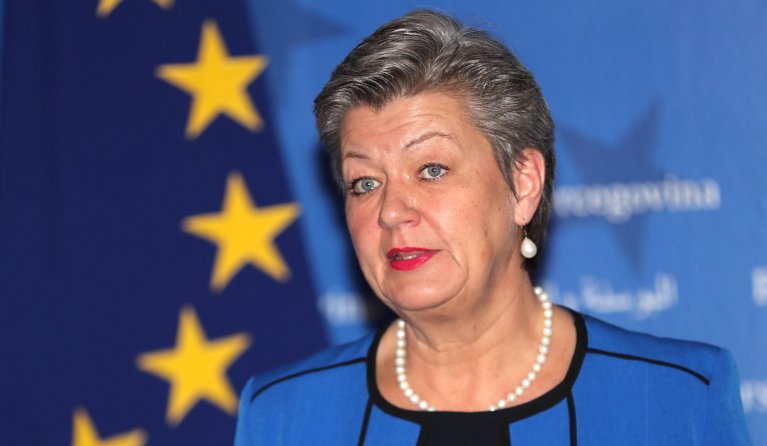 From file: EU Commissioner for Home Affairs Ylva Johansson | Photo: Ansa