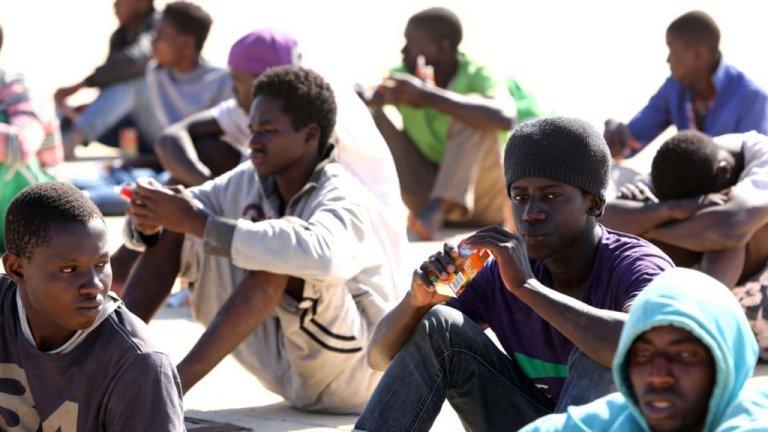 مهاجرون أفارقة في الجزائر. أرشيف