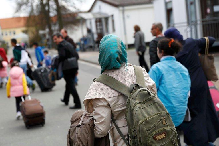 REUTERS/Kai Pfaffenbach |51 migrants irakiens qui vivaient en France et en Allemagne ont été raccompagnés à leur demande jeudi à Erbil, la capitale du Kurdistan irakien. Une première pour ce type d'opération conjointe européenne.
