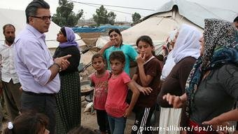 كيزلهان بين اللاجئين في شمال العراق