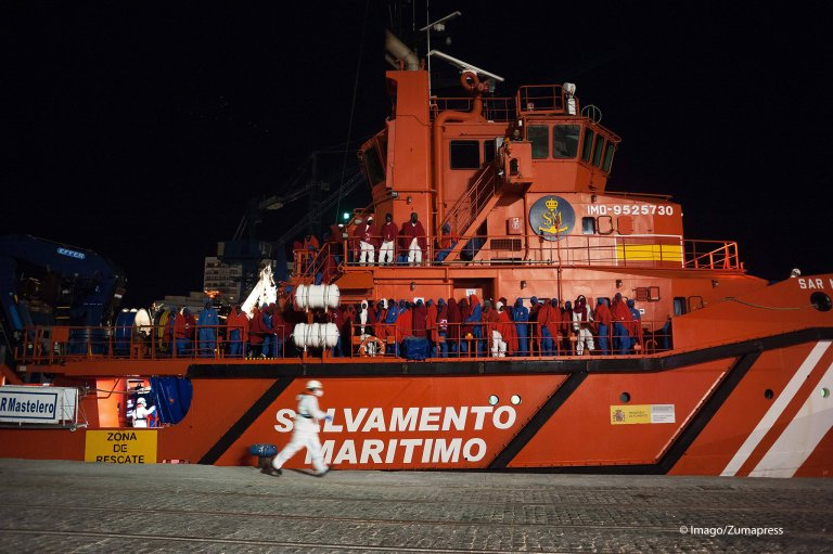 From file: The Spanish Maritime Rescue Service | Photo: Imago