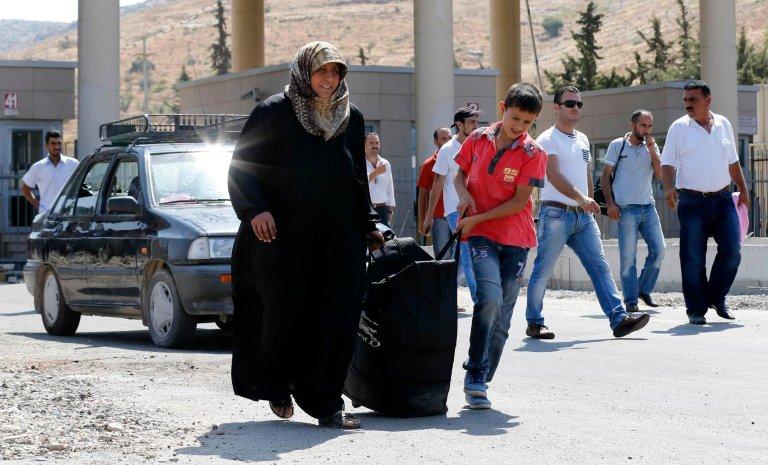 Reuters/Umit Bektas |Syrian refugees in Turkey.