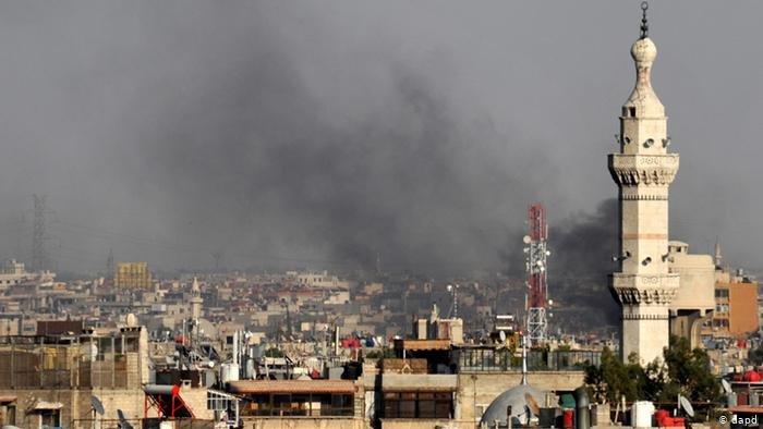 صورة تعبيرية للدمار الذي لحق سوريا بسبب الحرب