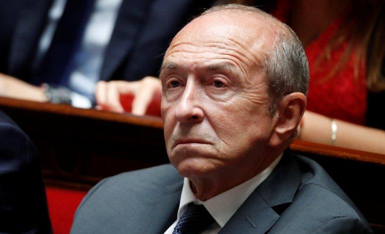 Gérard Collomb, le 12 septembre. Crédit : Reuters