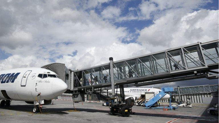 L'annexe décriée du tribunal du TGI de Bobigny se trouve dans l'aéroport de Roissy. Crédit : AFP