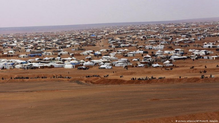 The refugees in the camp are at serious risk of starvation if aid does not come soon