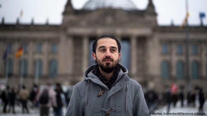 Alaows says his candidacy highlighted the potential of refugees, but also the dangers they face when stepping into the spotlight   Photo: Markus Schreiber/AP/Picture-alliance