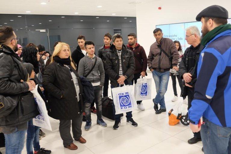ansa / كرواتيا: وصول 36 مهاجرا سورياً في إطار برنامج إعادة التوطين