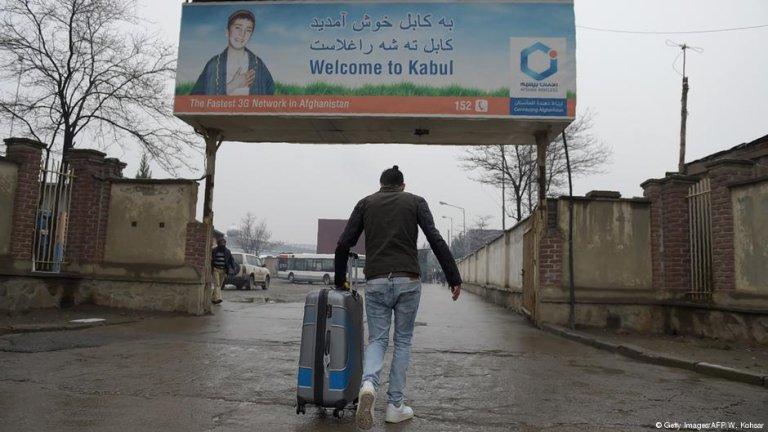 عکس از آرشیف/ پناهجویان اخراج شده از آلمان در سال ۲۰۱۷ به کابل بازگشتند