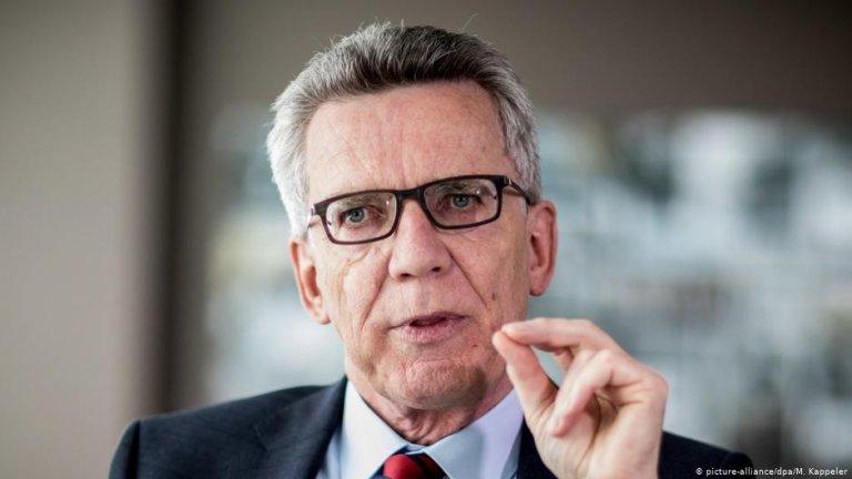 توماس دیمیزیر، وزیر داخله پیشین فدرال آلمان.