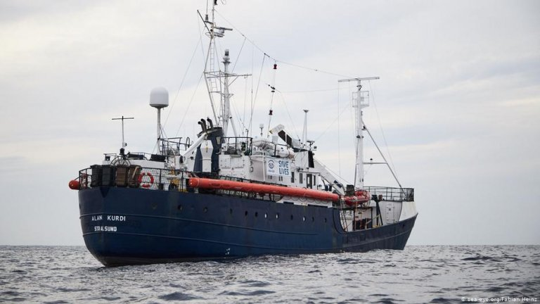 Alan Kurdi rescue ship | Photo: Sea Eye/Fabian Heinz