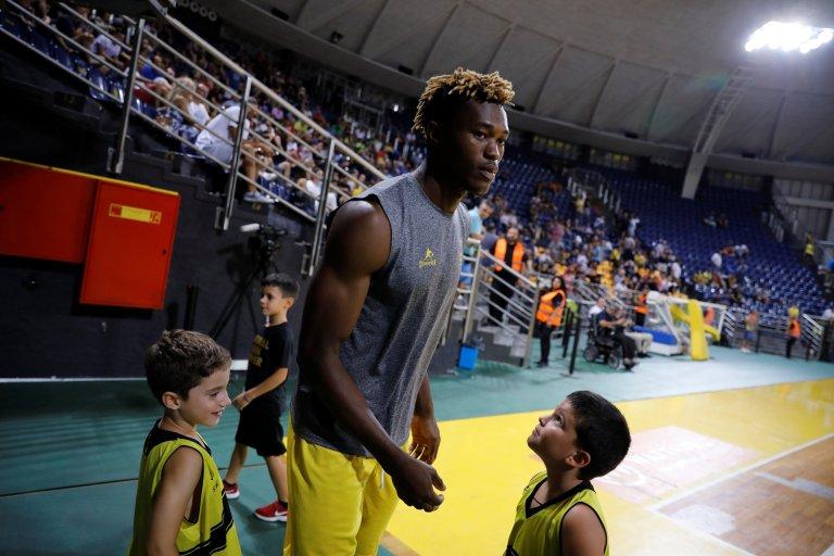Le Congolais Christ Wamba joue dans un club grec réputé. Crédit : Reuters