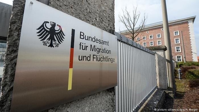 The BAMF processes asylum applications in Germany