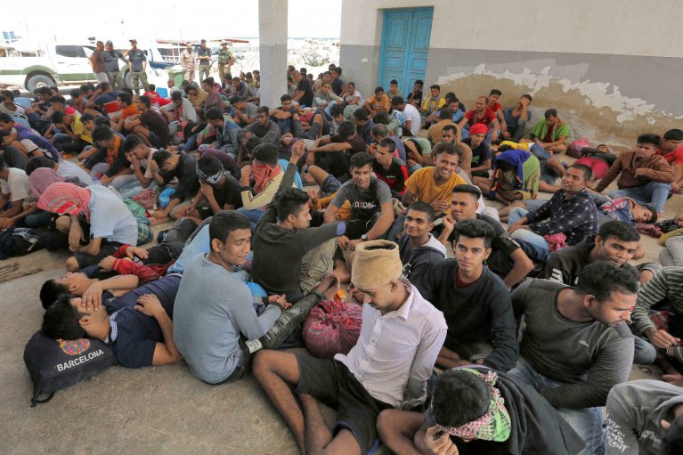 FATHI NASRI AFP |Libya remains one of the main departure points for migrants hoping to attempt the dangerous Mediterranean crossing