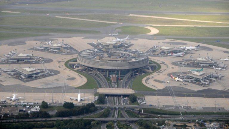 Terminal 1 de l'aéroport Roissy CDG en région parisienne. Crédits : Citizen59/Wikipedia Creative Commons
