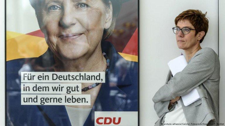 Annegret Kramp-Karrenbauer | Photo: Picture-alliance/Geisler-Fotopress/Snapshot/F.Boillot