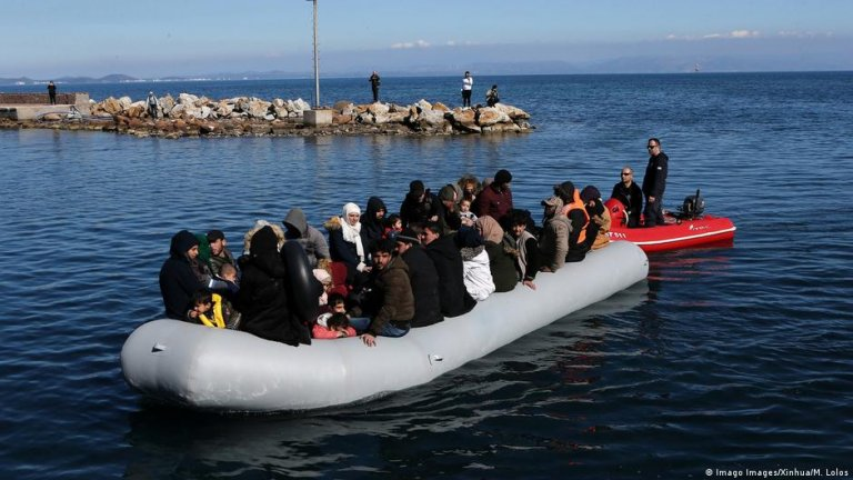 Asylum seekers frequently attempt to reach the EU via rubber dinghies on the Mediterranean Sea   Photo: Imago Images