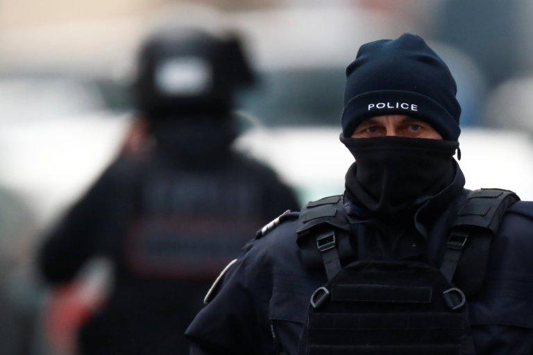 رويترز/ دوريات للشرطة الفرنسية