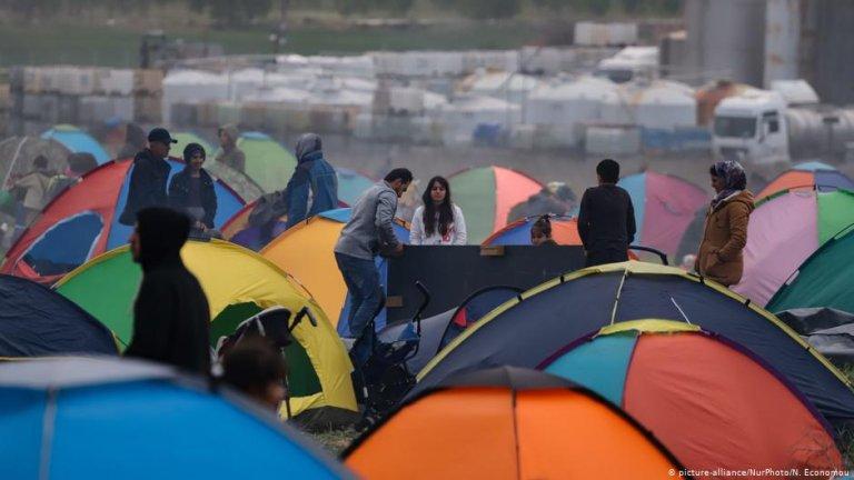 پناهجویان در اتحادیه اروپا/عکس: Picture-alliance/NurPhoto/N.Economou