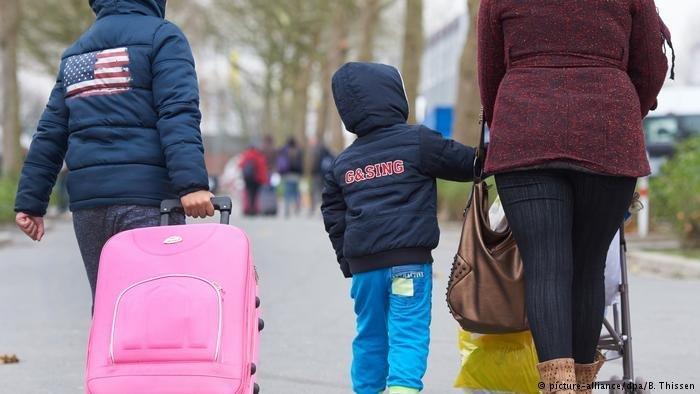 Plus de 28 000 demandes de regroupement familial ont déjà été déposées en Allemagne. Crédit: picture-alliance/dpa/B. Thissen