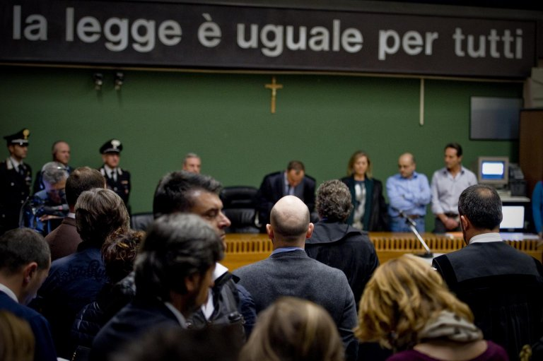 A courtroom in Naples | Photo: ANSA/CIRO FUSCO