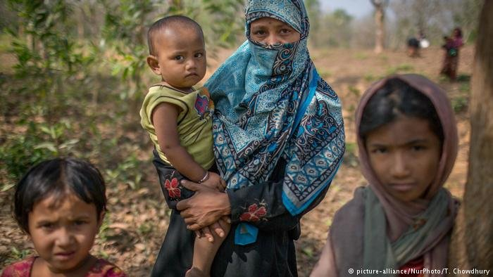 Rohingya refugees are fleeing ethnic violence in Myanmar