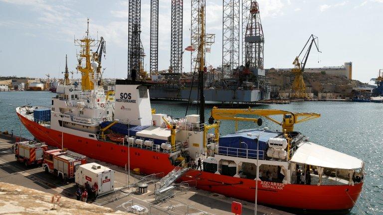 سفينة أكواريوس في مالطا