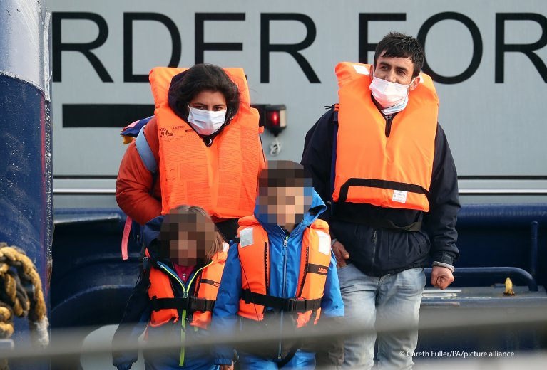 183 migrants crossed the Channel on March 23. The figure was the highest daily number so far in 2021 | Photo: Gareth Fuller/PA Wire