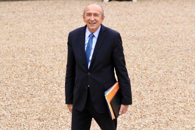 RFI/ Pierre René-Worms |Le ministre français de l'Intérieur, Gérard Collomb.