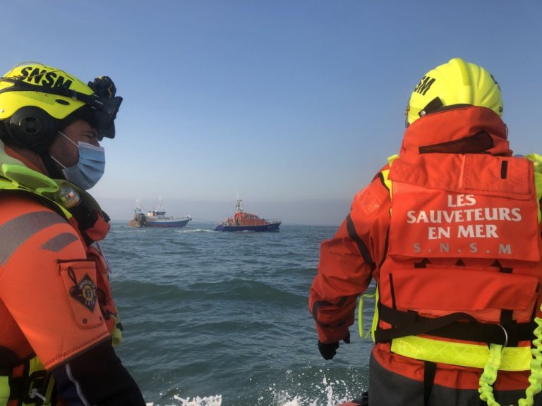 امدادگران شرکت ملی نجات دریایی. عکس از SauveteursenMer@