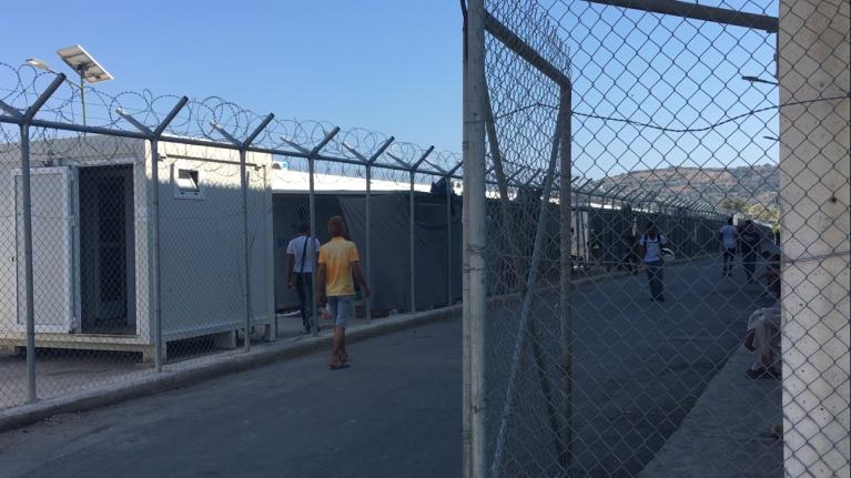 مخيم فيال في جزيرة كيوس/ مهاجر نيوز