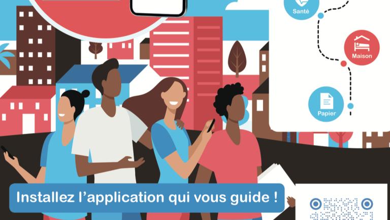 L'application est disponible en six langues et est téléchargeable gratuitement. Crédit : capture d'écran www.var.gouv.fr