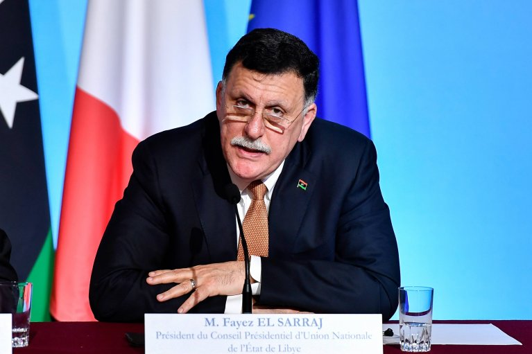 Fayez al-Sarraj met leaders from France, Germany, Italy and Spain in 2017 - they promised to support Libya and other African countries to stop irregular migration | Photo: Imago
