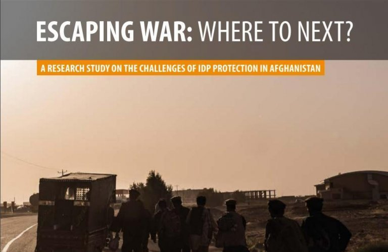 A picture from the cover of the report. Credit: Norwegian Refugee Council