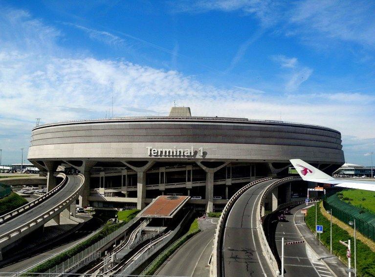 Image d'illustration du terminal 1 à l'aéroport Charles-de-Gaulle dans le nord de Paris. Crédit : Pixabay