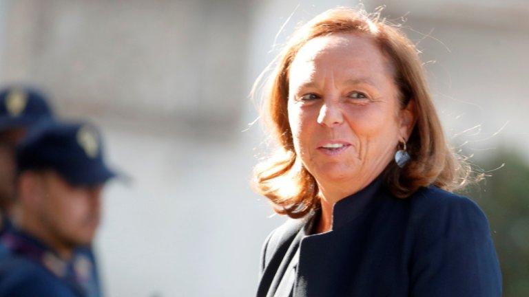 وزيرة الداخلية لوتشيانا لامورجيزي / رويترز - تشيرو دو لوكا