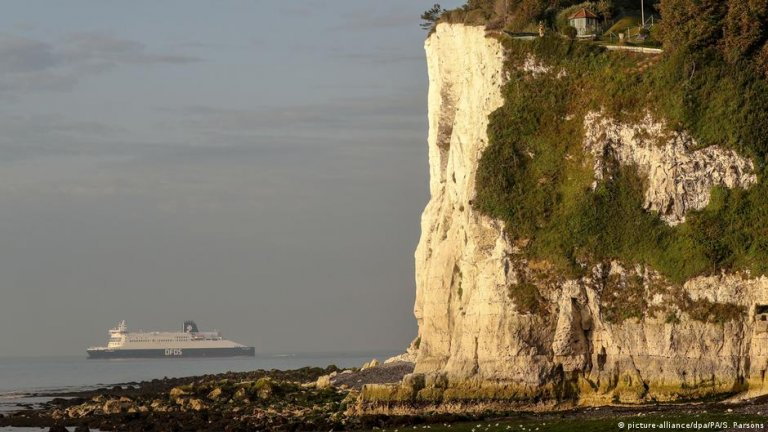 The White Cliffs of Dover can be seen from the French mainland on a clear day   Photo: picture-alliance/dpa/PA/S. Parsons