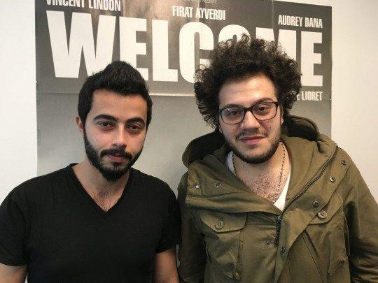 Hassan, à gauche, est arrivé en 2015 en France