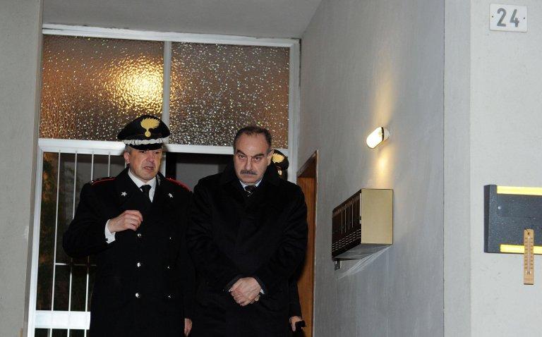 ANSA / محافظ فيرسيللي السابق سالفاتور مالفي. المصدر: أنسا/ تونينو دي ماركو.