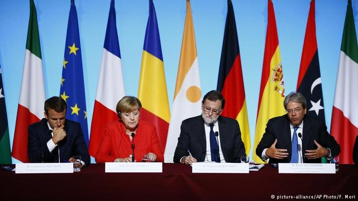 European leaders discuss migration