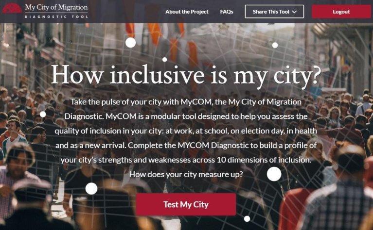 ansa / مدينة هجرتي.. تطبيق إلكتروني يدعم تكامل المهاجرين