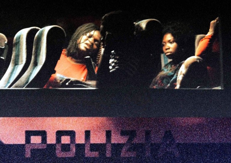 Nigerian prostitutes apprehended by police in Emilia-Romagna | Photo: ANSA/Ciro Fusco