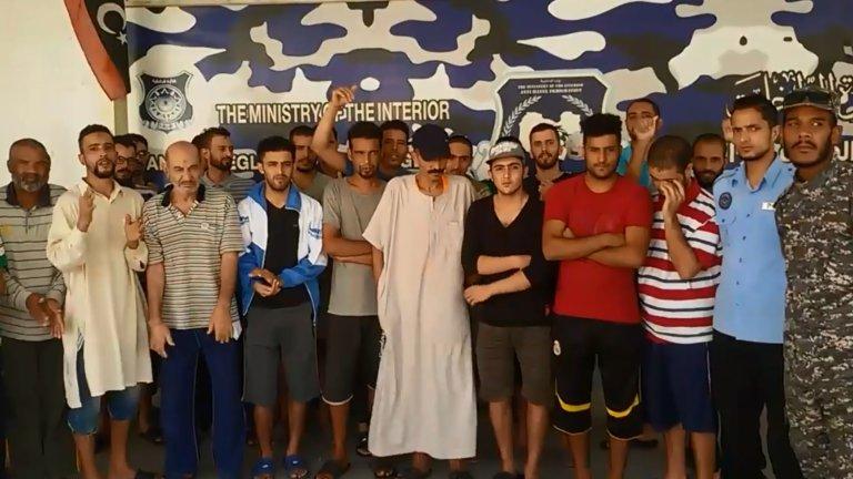 مهاجرون مغاربة عالقون في ليبيا   المصدر: الموقع الرسمي لجهاز مكافحة الهجرة غير الشرعية في طرابلس