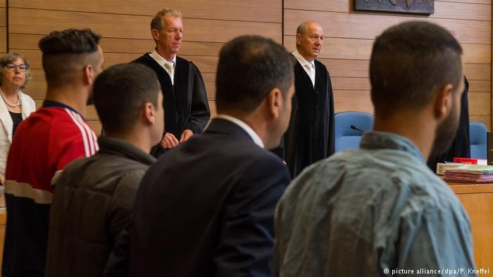 Defendants in court in Traunstein