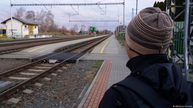 Undocumented worker in Vodanská in Mirovice   Photo: DW/Keno Verseck
