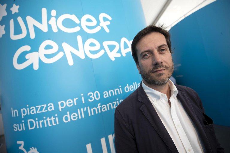 Andrea Iacomini, journalist and spokesperson for the Italian Committee of UNICEF   Photo: ANSA/Massimo Percossi