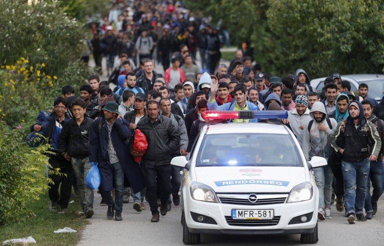 En 2015, des dizaines de milliers de migrants sont passés par l'Autriche pour rejoindre l'Allemagne. Crédit : Reuters